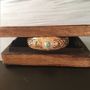Authentic LE SAMANTHA WILLS Turquoise Bangle